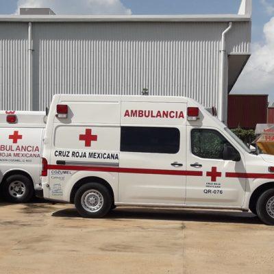 Tiene Cozumel más ambulancias privadas que del sector público