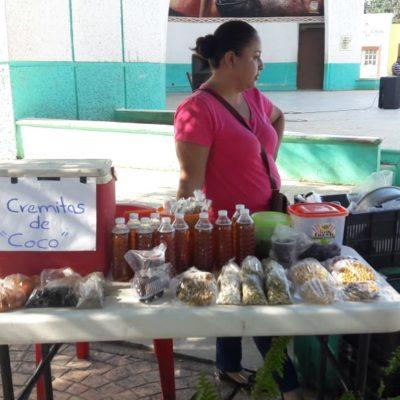 Promueven tianguis agroecológico en José María Morelos
