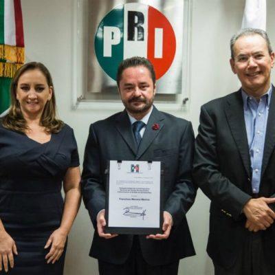 Cuestionado ex diputado el jueves asumirá como delegado del PRI en QR