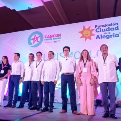 Inauguran el Cancún Travel Forum 'Turismo 4.0', evento turístico con causa