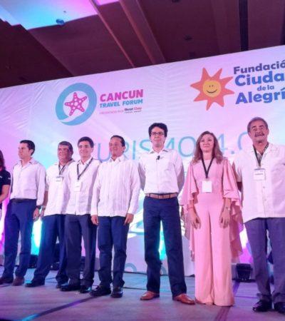 Inauguran el Cancún Travel Forum 'Turismo 4.0', evento turístico con causa