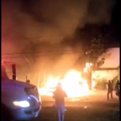 Muere mujer en incendio en Chetumal