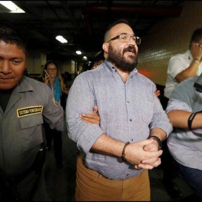 Ni Javier Duarte ni sus ex funcionarios han sido inhabilitados, reconoce la Contraloría de Veracruz