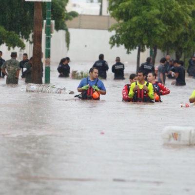 VIDEO | SUFRE SINALOA SEVERAS INUNDACIONES: Refugios temporales albergan a más de tres mil personas