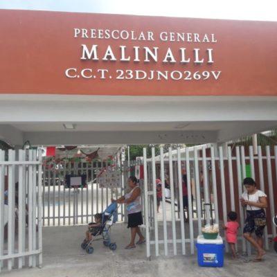 INSEGURIDAD EN CANCÚN: El jardín de niños 'Malinalli' de la Región 228 suma 13 robos en el último ciclo escolar