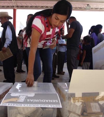 Ceden al menos 40 'Juanitas' sus cargos de elección popular a varones en Chiapas