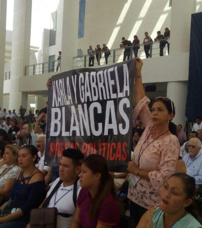 Hermana de Karla Blancas, la ex delegada de Liconsa acusada del asesinato de su esposo, dice que su detención fue política