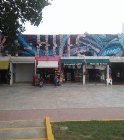 LANGUIDECE EL MERCADO KI-HUIC: Debido al cierre de locales, sobreviven artesanos con pocas ventas con la esperanza de que vuelvan los buenos tiempos