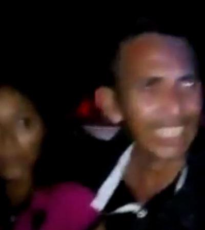 Intenta turba linchar a pareja de esposos en Papantla, Veracruz; no eran del lugar y los acusaron de ser robachicos