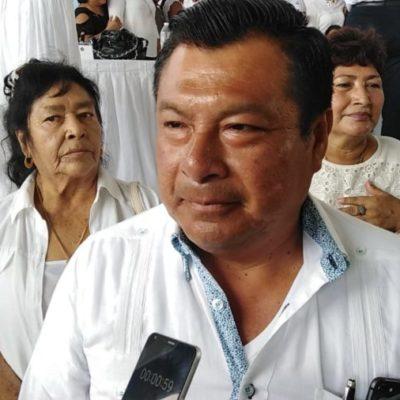 Marciano Dzul afirma que no será oposición para el gobierno de Víctor Mas