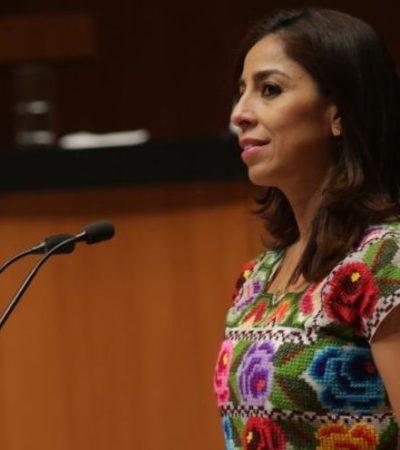 Presenta Marybel Villegas iniciativa en el Senado para reformar la Ley de Adquisiciones, Arrendamientos y Servicios del Sector Público para evitar, dice, más 'estafas maestras'