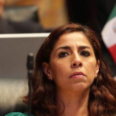 """No 'coincide' Marybel Villegas con PAN en reducir el IVA: """"Andrés Manuel tiene otros proyectos para Quintana Roo"""", dice Senadora de Morena"""