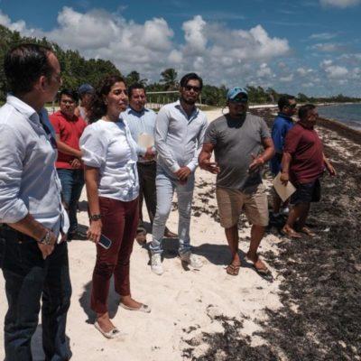Pescadores y buzos de Playa del Carmen se reunieron con la senadora Marybel Villegas a quien pidieron accesos públicos y zonas de carga y descarga