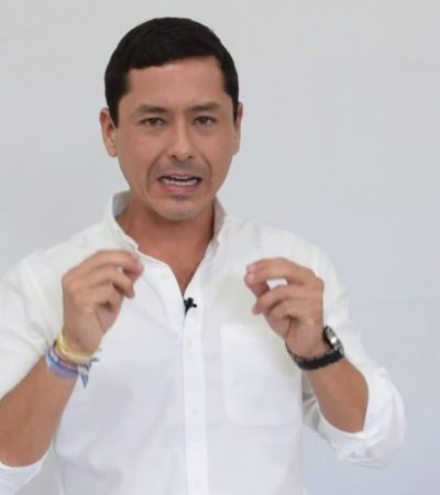 Reclama alcalde de Campeche presunto saqueo de su antecesor; 'habrá consecuencias', le dice durante toma de protesta