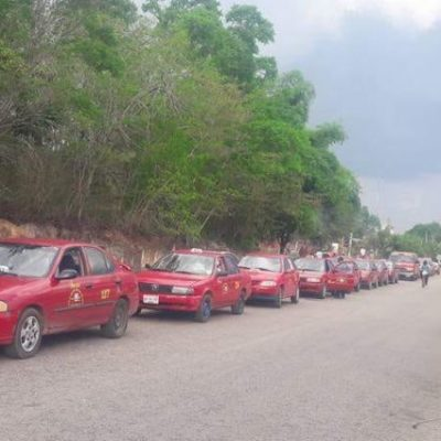 Dirigentes taxistas de JMM solicitan a Sintra la aprobación del alza al pasaje