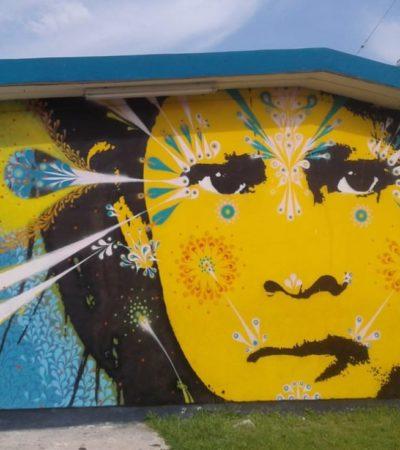 PINTAN CON ARTE LAS ESCUELAS DE CANCÚN: Con ocho artistas y ocho murales, inauguran el Proyecto Panorama