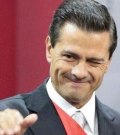 Podría Peña Nieto volverse 'hasta periodista' tras el 1 de diciembre; les va mejor que a lo políticos, dice