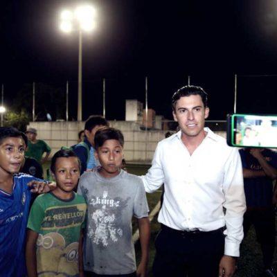 A días de dejar el cargo, Remberto Estrada da por cumplido al cien por ciento con el cambio de luminarias con tecnología LED