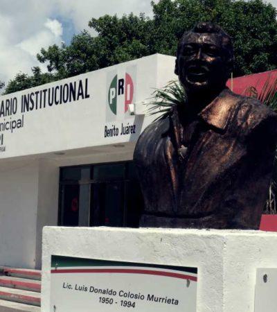 TRAS FRACASO ELECTORAL, ABANDONAN EL PRI: La sede del tricolor en Cancún parece uno más de los elefantes blancos con los que cuenta este destino vacacional