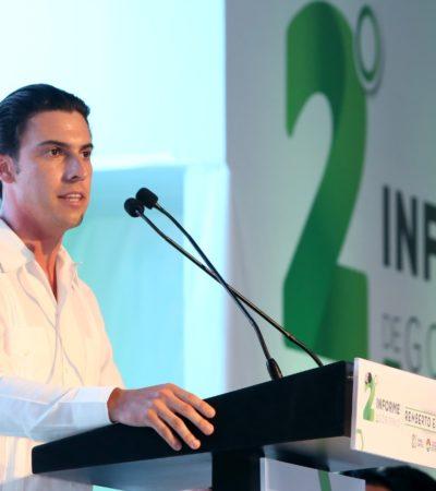 Destaca Remberto Estrada acciones de fortalecimiento de la economía de Cancún