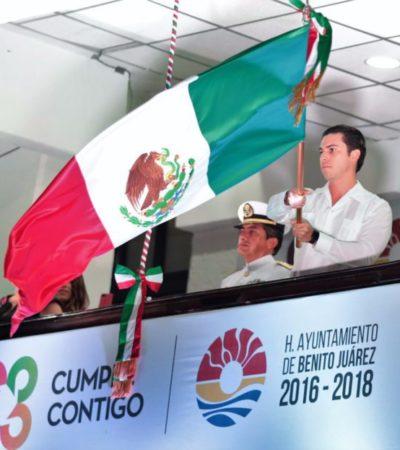 CIERRE DE CALLES EN CANCÚN: Autoridades de BJ se preparan para realizar operativo de seguridad por festejos del Grito de Independencia