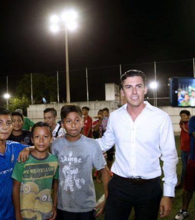 """""""En tecnología, prevención del delito y tecnología, Cancún está a la vanguardia internacional"""", afirma Remberto Estrada"""