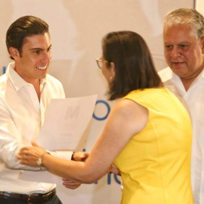 Reconoce Alcalde que las accionesde los tres órdenes de gobierno, empresarios del sector turístico y sociedad fortalecieron la marca Cancún.
