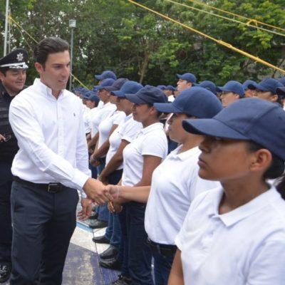 Entregará Remberto Estrada policías con mejores capacidades