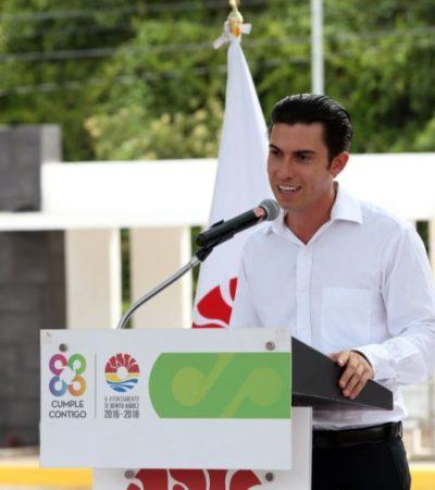Remberto Estrada entrega obras que contribuyen a la movilidad y el deporte