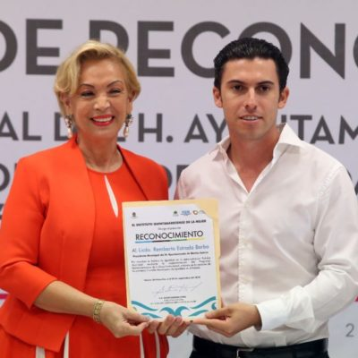 El IQM reconoce avances de Cancún en materia de igualdad y por incorporar la perspectiva de género en la administración pública