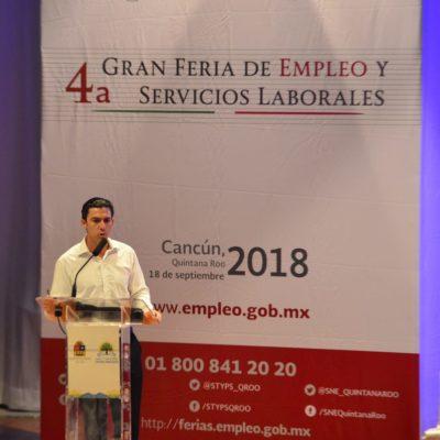 En dos años, se atendieron en Cancún a más de 20 mil buscadores de empleo en el municipio, de los cuales más del 90% se vincularon a un trabajo formal