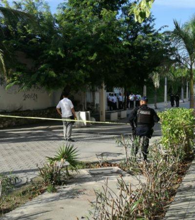 EJECUTAN A UN TAXISTA EN EL PARADISUS: Disparan en dos ocasiones contra el chofer que hacia guardia en la entrada principal del exclusivo hotel en Playa del Carmen