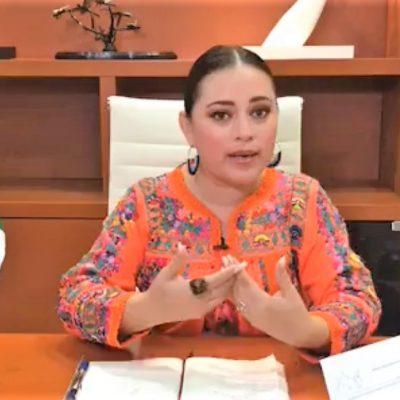 Rechaza Perla Tun que se niegue a llevar a cabo la entrega-recepción