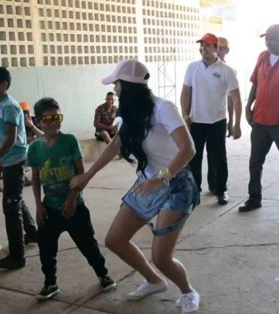 Ni 'perreo' ni 'reguetón' en Fiestas Patrias, pide síndica a escuelas de Pueblo Viejo, Veracruz
