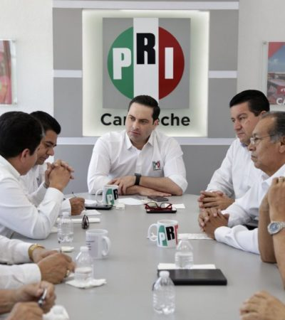Dejan acéfalas presidencia y secretaría general del PRI en Campeche ante reclamos de militancia