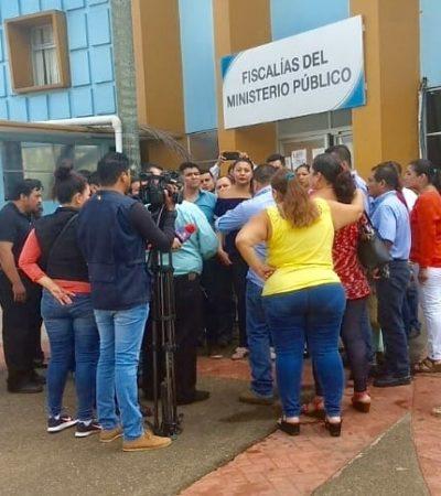 Reclama Fiscal General de Tabasco el atraso en pago de bonos a trabajadores; Secretario de Finanzas rechaza recibirlo