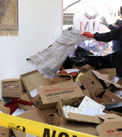 Retrasan fallas de logística traslado de paquetes electorales en Puebla; hoy arranca recuento de votos