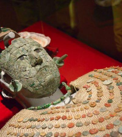 Regresa a Palenque 'La Reina Roja' luego de su restauración y exhibición en NY y CDMX