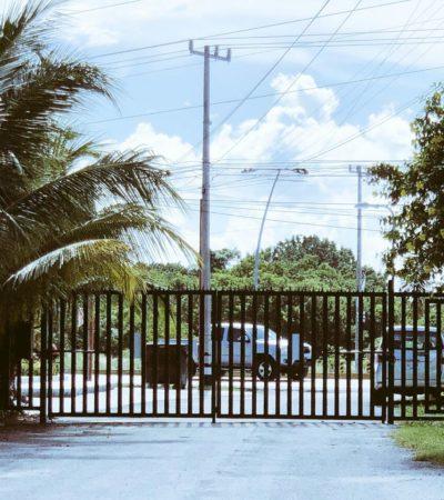 NO TIENEN PERMISO DE LA AUTORIDAD, PERO…: Por inseguridad, vecinos cierran calles de Cancún