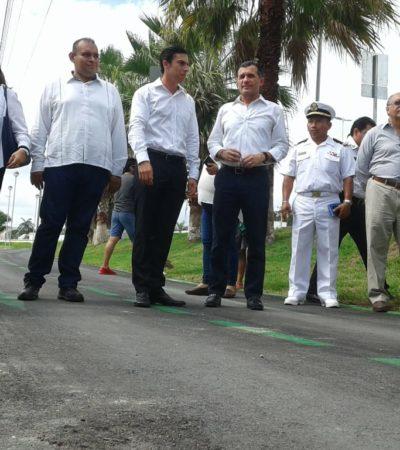 Asegura Remberto que no heredará adeudos con las empresas concesionarias del servicio de recolección de basura en Cancún; reconoce fallas de luminarias por robo de cableado