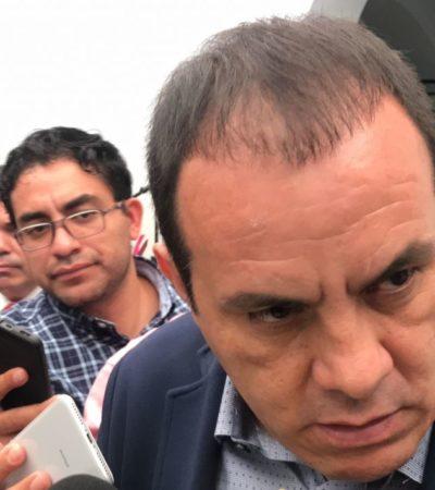 SI YA SABEN COMO ES, PA'QUÉ LO INVITAN: Yeidckol Polevnsky no sabe lo que pasa en Morelos, dice Cuauhtémoc Blanco