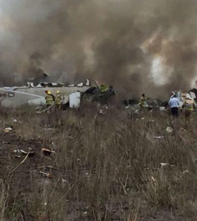 Atribuyen accidente de avión de Aeroméxico en Durango a causas meteorológicas; descartan fallas humanas
