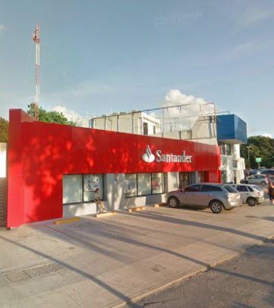 """ASÍ SE LAS GASTAN… """"ME DIJERON QUE YO LE HAGA COMO PUEDA"""": Banco Santander deja solo a cliente que sufre robo en sus instalaciones por ladrones que se hicieron pasar por ejecutivos"""