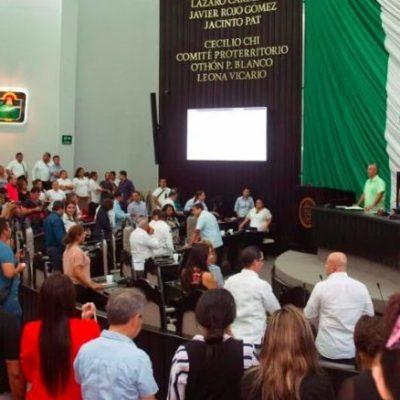 Elige Congreso Mesa Directiva para el primer mes de sesiones del tercer año de ejercicio; Zetina responderá al Informe de CJG