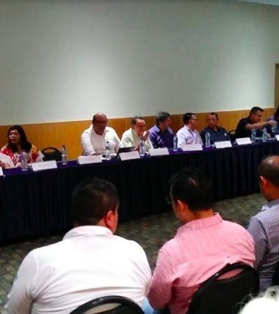 PIDEN PAN, LES DAN HUESO: Presentan en Chetumal proyecto de Tren Maya que no llegará a la capital de QR, pero les ofrecen analizar instalar un parque de talleres
