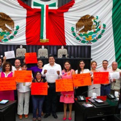 Se pronuncia Congreso a favor de los derechos políticos de las mujeres