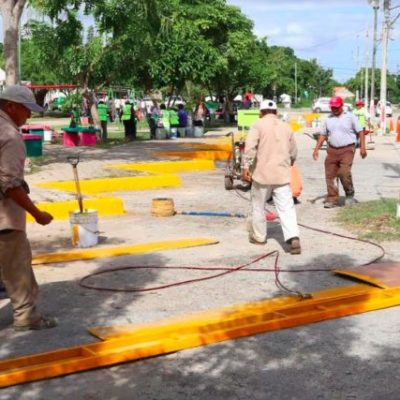 Destaca Alcalde recuperación de espacios públicos en Cancún