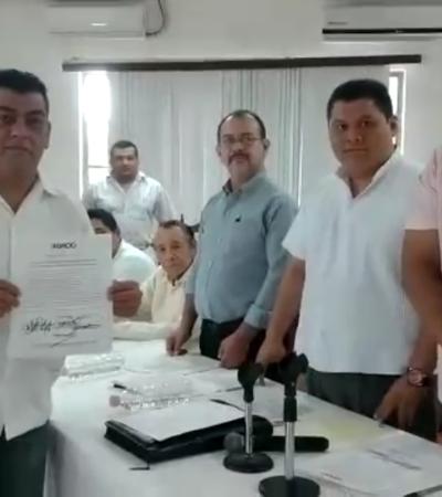 Acreditan a los nuevos regidores de la administración municipal de OPB, a 12 días de tomar protesta