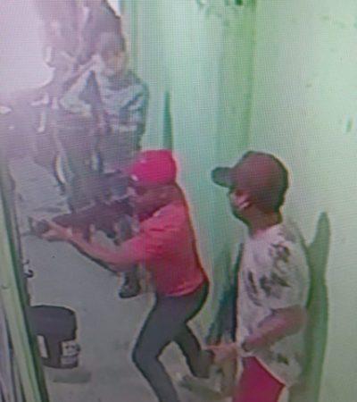 GRABAN A SICARIOS EN UN INTENTO DE EJECUCIÓN: Iban por un taxista en la SM 72 de Cancún que al final sólo quedó herido