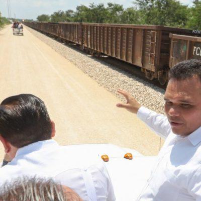 Reviven proyecto ferroviario en Yucatán luego de cien años de inactividad en el sector